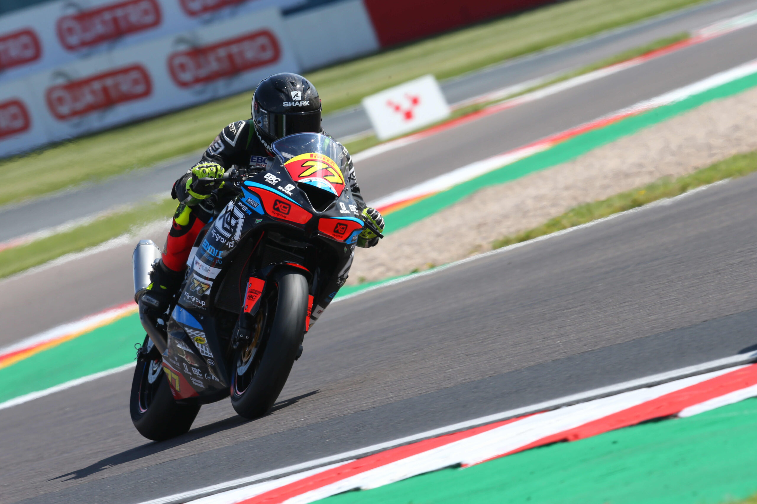 KADE VERWEY HAPPY WITH RACE-LEADING PACE AT DONINGTON PARK
